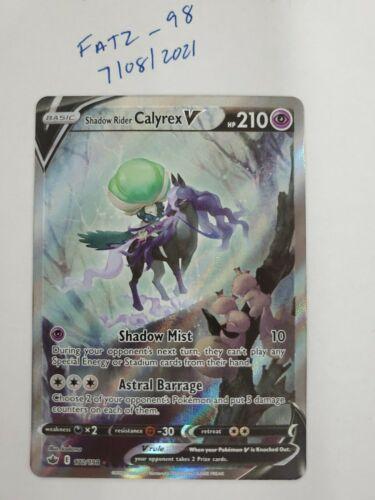 Pokemon - Shadow Rider Calyrex V - 172/198 - Chilling Reign - Alternate Art