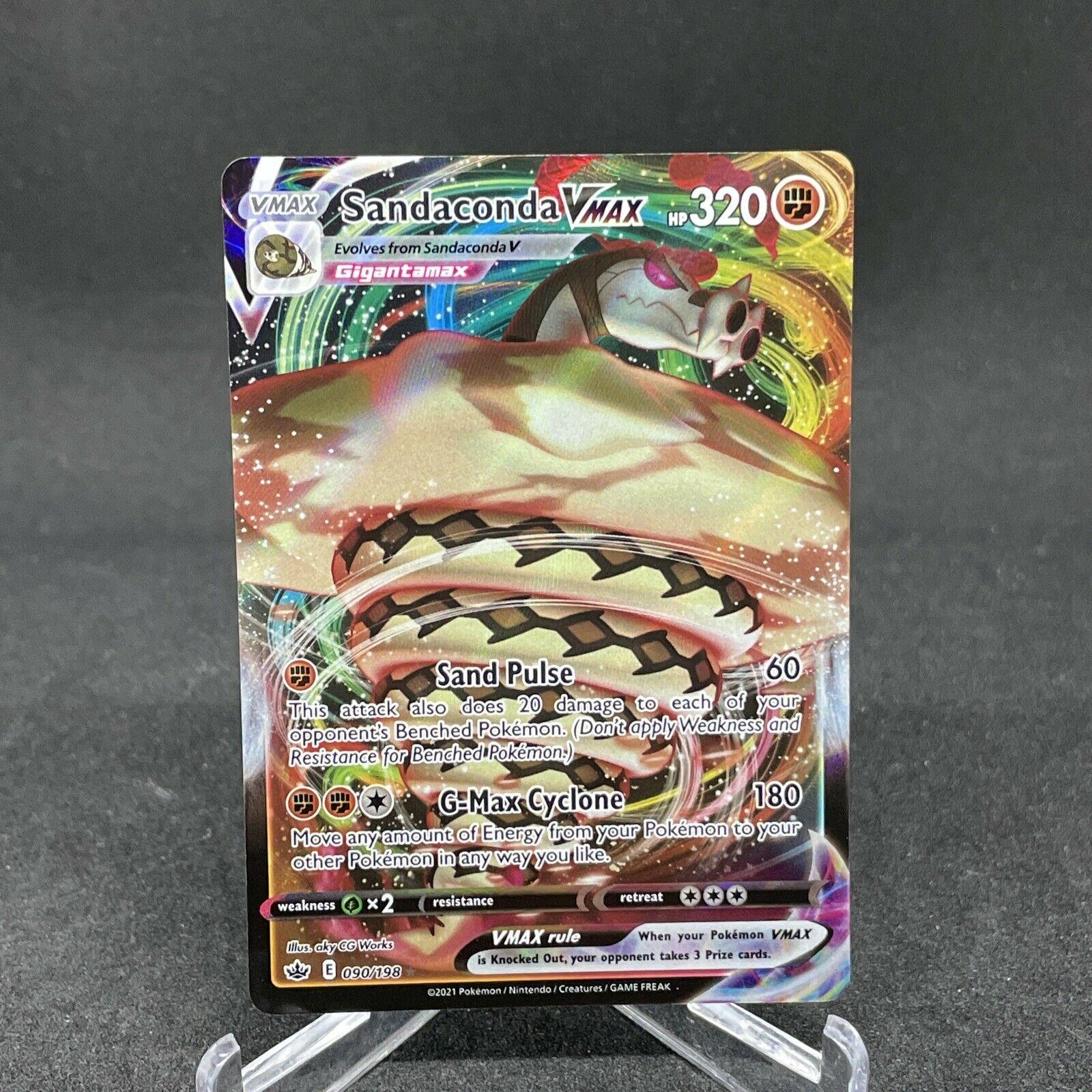 Sandaconda Vmax 090/198 Full Art Ultra Rare Chilling Reign Pokemon Card