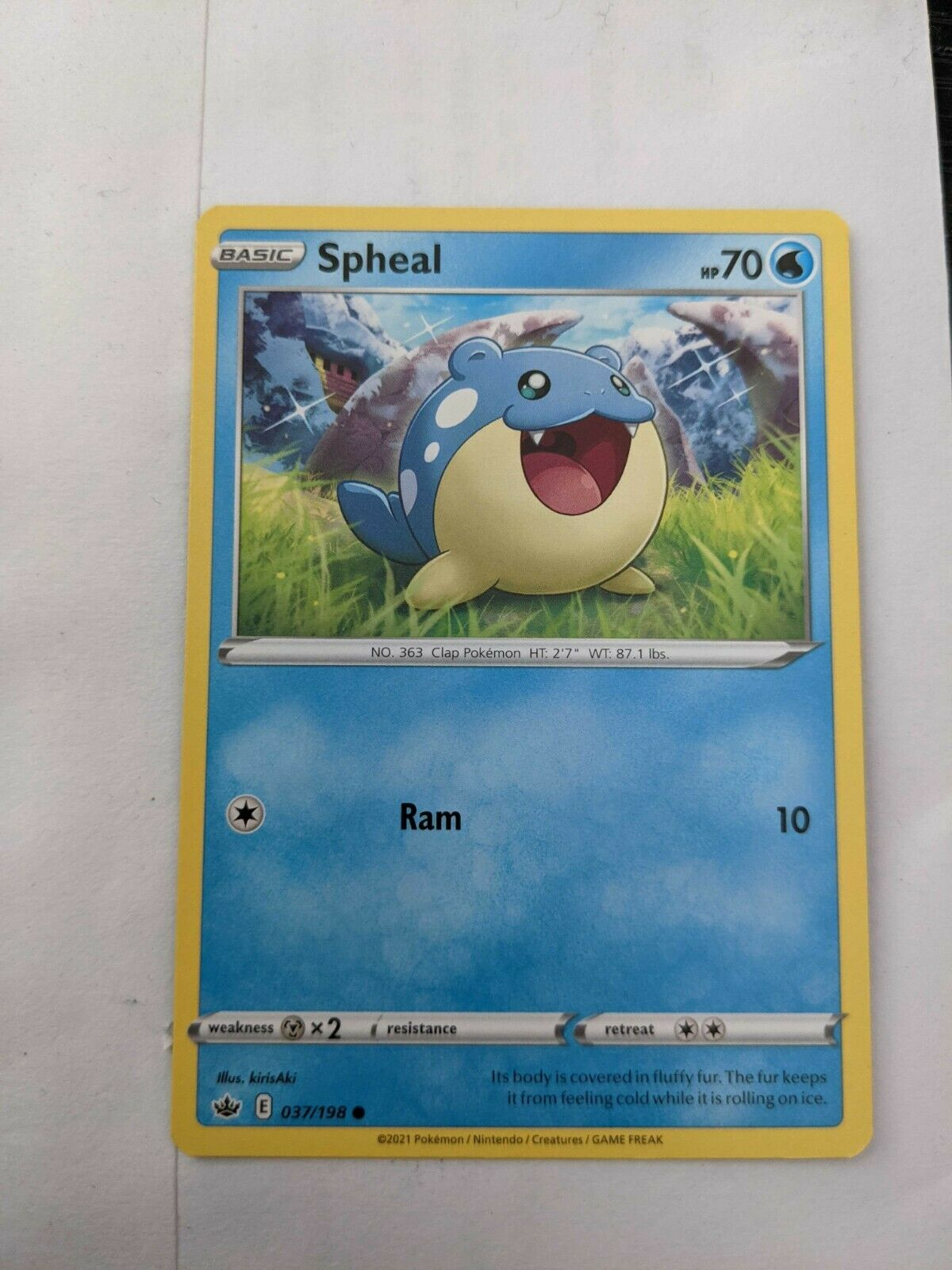 Spheal NM Chilling Reign 037/198