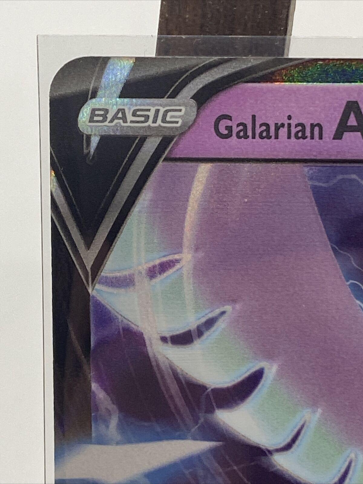 Pokemon Galarian Articuno V Card 058/198 Chilling Reign - Image 5
