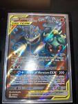 Marshadow & Machamp GX 198/214 Unbroken Bonds NM Ultra Rare Full Art Pokemon