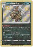 Galarian Weezing SV077/SV122-Pokemon Shining Fates-Shiny Vault-Shiny Holo RARE