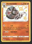Sandaconda SV071/SV122 Pokémon TCG Shining Fates Shiny Vault