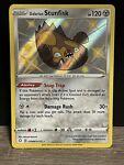 Shiny Galarian Stunfisk SV088/SV122 Pokémon Card Shining Fates Shiny Vault NM