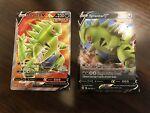 pokemon battle styles tyranitar v AND full art 097 154/163 (OC)