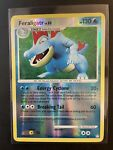 Pokémon Card- Feraligatr 8/123 (Mysterious Treasures, 2007) Reverse Holo, NM