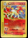 Rapidash ☆Rare Holo☆ Expedition Set Pokemon Card #26/165 Mint! Condition SeePics
