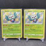 2X Rowlet - SV001/SV122 - Shining Fates - Shiny - Pokémon TCG Card - NM