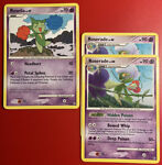 Pokémon Roselia 72/100 & Roserade (2x) 23/100-Stormfront Non-Holo
