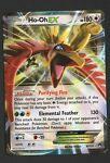 Ho-Oh EX 92/122 - XY BREAKpoint - Pokemon Card - Rare Holo Half Art