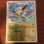 Pokémon TCG - 2010 Jolteon 28/90 - Reverse Holo - LP Condition - HG/SS Undaunted