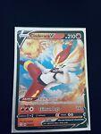 Cinderace V Ultra Rare Holo Pokemon Card Shining Fates 018/072 NM