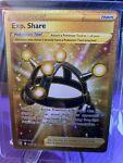 EXP SHARE 180/163 GOLD Secret Rare Trainer Battle Styles Pokémon Card M/NM
