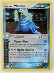 Team Aqua's WALREIN 6/95 Rare HOLO Pokemon Card SWIRL 2005 NM