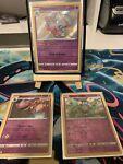 Hatterene - SV056/SV122 - Shiny Holo Rare Pokemon Shining Fates M/NM + 2 Bonus