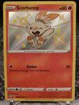 Pokémon TCG Scorbunny Shining Fates SV015/SV122 Holo Shiny Holo Rare