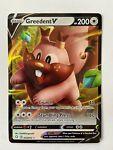 Greedent V Holo Rare 053/072 Shining Fates Pokemon Card Near Mint/Mint