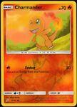 ⭐ Charmander (12/181) Pokemon Reverse Holo Sun & Moon Team Up Pokémon Card