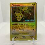Pikachu 94/123 Stamped Reverse Holo Mysterious Treasures Pokémon Card TCG