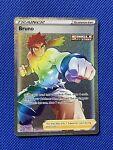 Pokemon - Bruno - 172/163 - Secret Rare - Battle Styles - NM/M