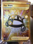 Pokemon TCG SS Battle Styles 180/163 Exp. Share Secret Gold Rare Card