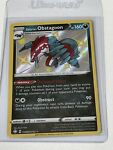 Pokémon TCG Galarian Obstagoon SV080/SV122 - Shiny Holo Rare Shining Fates - NM