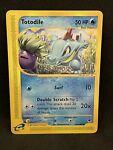 Totodile 134/165 Expedition Base Set E- Series Pokemon Card - NM see pix #3