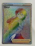 Pokemon - Cheryl - Secret Rare - Battle Styles - 173/163 - NM/M - New!