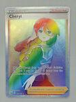 Cheryl 173/163 Full Art Rainbow Secret Rare Holo Battle Styles Pokemon TCG Card
