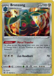 Pokemon Card - Battle Styles 102/163 - BRONZONG (holo-foil) - NM/Mint