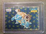1995 Blastoise Topsun Holo Kira No. 009 Pokemon Card Japanese Rare Prism - HP