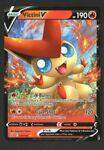 Victini V Ultra Rare Holo Battle Styles 021/163 Pokemon Card