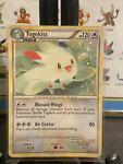 Pokemon Card Togekiss 9/90 HGSS Undaunted Set Rare Holo With Swirl VG