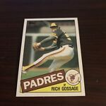 1985 Topps Rich Gossage #90 NM-Mint San Diego Padres
