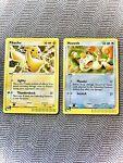 Pokemon TCG Black Star Promo - Pikachu 012 Holo, Meowth 013 Holo - LP/NM