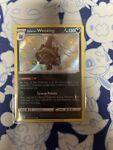 Shiny Galarian Weezing SV077/SV122 Holo Rare Pokémon Shining Fates - NM/M