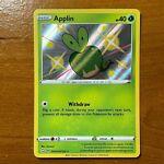 Pokemon - Applin - Shiny Rare - SV012/SV122 Shining Fates - M/NM