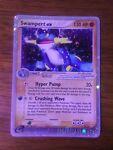 Swampert EX 95/95 Ex team Magma VS team Aqua Pokemon Card NM