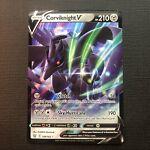 Corviknight V 109/163 Battle Styles NM Ultra Rare Full Art Pokemon Card