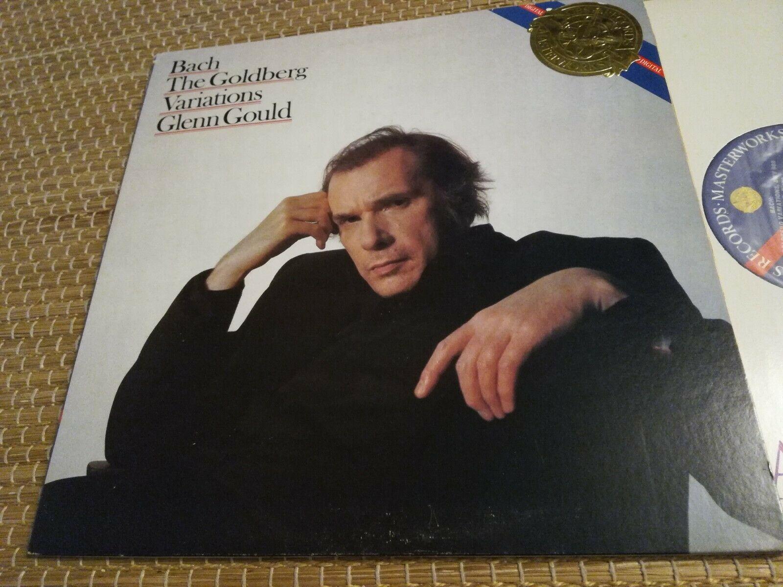 GLENN GOULD piano - Goldberg Variations BACH 1stPress 1982 CBS NM lp