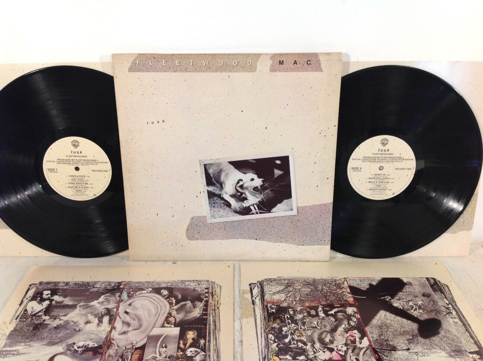 Fleetwood Mac - Tusk - Warner Bros 1979 2xLP Includes All Inner Sleeves VG+