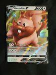 Greedent V 053/072 Shining Fates Ultra Rare Pokemon Card MINT