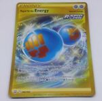 Rapid Strike Energy 182/163 Holo Secret Rare Battle Styles Pokemon Card Near Min