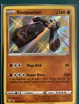 Stonjourner SV075/SV122 Pokémon TCG Shining Fates Shiny Vault Near Mint