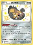 Galarian Stunfisk Pokemon Card SV088/SV122 Shining Fates