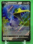 Pokemon Shining Fates Set ULTRA RARE Cramorant V 054/072 - Near Mint (NM)