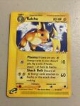 Raichu 61/165 Expedition Non Holo Rare Pokemon TCG Light Play