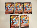 5x Cinderace V 018/072 Shining Fates - NM Ultra Rare Pokémon Card
