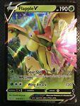 Pokemon Card Flapple V Ultra Rare (018/163) - SWSH Battle Styles ~Near Mint~