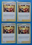 4x Sordward & Shielbert 135/163 Pokemon card Battle Styles uncommon NM